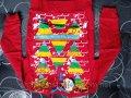 Кофта детская (5-8 лет, красная)