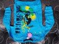 Кофта детская (5-8 лет, голубая)