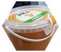 La miel pura, natural el Tilo de 1,2 kg.