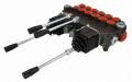Сепаратор гидравлический 6 секций 80L с рычагом и двумя джойстиками