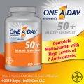 Мультивитаминный комплекс для женщин старше 50-ти лет Bayer One A Day Women's 50+ 220 таблеток