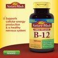 Витаминный комплекс Nature Made B12 Timed Release 375 таблеток по 1000мкг