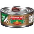 Тунец, целый кусок, в оливковом масле Genova Solid Light Yellowfin Tuna in Olive Oil, 198гр 7 oz 6 банок #744361