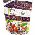 Микс вяленых органических ягод и фруктов-черешни, годжи, голубики, клюквы, пепитос и изюма Organic Made in Nature Antioxidant Fusion