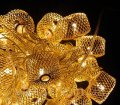 Гирлянда Колесо фортуны Золото LED 20 (108)