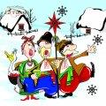 Салфетка ТМ La Fleur 33х33, Рождественские гости