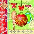 Салфетка ТМ Luxy 33х33, Украшения для Елки