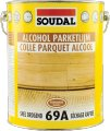 Parquet glue on the basis of solvents 69A
