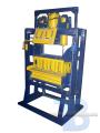 Вибропресс пневматический для производства шлакоблока, шлакополистеролблока и тротуарной плитки ШБС-4