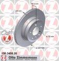 Тормозной диск задний BMW X6 30 Дизель 2008 -  (150345020)