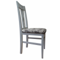 Yuli's chair white, firm back
