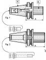 Втулка переходная 1663-40-3-75 MAS 403-BT K=40 ( 7:24) / KM 3 Bison DIN 228-A
