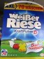 Стиральный порошок Weiber Riese Kraft Pulver 5, 70 стирок 4,9 кг