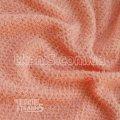 Ткань Трикотаж люрекс-травка (персик) 6793
