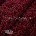 Ткань Трикотаж травка (бордовый) 6842