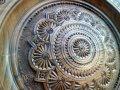 Тарелка декоративная, деревянная