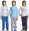 Пижама для мальчика Captain Baykar, серый и синий, 140, 10, 140 см