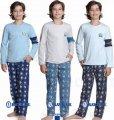 Пижама для мальчика Champions Baykar, голубой и синий, 158, 13, 158 см