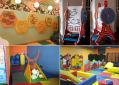 Детские игровые зоны в помещениях