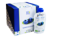 Blueberry paste composition 100% fruits blueberries, sugar and preservatives. TM «LiQberry», 100 g
