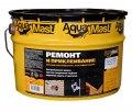 Битум мастика за ремонти и свързване на покрива 18 кг AquaMast 1/36
