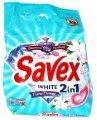 Стиральный порошок Savex авт. 2,4кг Diamond Parfum lock Whites colors 1/8