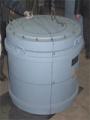 Комплект упаковочный транспортный ПКТ1В предназначенный для безопасного транспортирования и временного хранения отработанных ИИИ высокой активности.