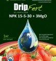 Удобрение DripFert™ 15-5-30 3MgO с микроэлементами 0,5кг