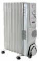Обогреватель масляный Термия H0616B с вентилятором