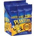 Арахис премиум качества поджаренный в меду Planters Peanuts Honey Roasted, порционные тубы 50гр, 1.75 oz, Бокс 18 шт