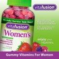 Витаминный комплекс для женщин VitaFusion Women's Multivitamin жевательные конфеты для энергии, метаболизма и укрепления костей 220 штук