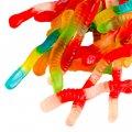 Конфеты жевательные червяки Dutch Treat Gummy Worm Ice Cream Topping, 10 lb.-4,536кг