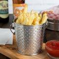 Корзинка для френчфрайз круглая Tablecraft Round Fry Cup-8,89смх8,89cm, Stainless, item# GTSS31