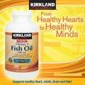 Рыбий жир в капсулахKirkland Signature™ 1000 мг 300мг Омега-3, 400 капсул