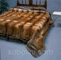 Королевские спальни Меховое покрывало из канадской лисы