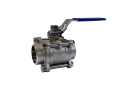 Кран шаровой нержавеющий 3-х составной DN32 сварка / сварка шаровый  LPG пропан газовоз корпусной AISI 304 (08Х18Н10) S/S