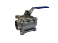 Кран шаровой нержавеющий 3-х составной DN40 сварка / сварка шаровый  LPG пропан газовоз корпусной AISI 304 (08Х18Н10) S/S