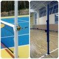 Стойки универсальные теннис, бадминтон, волейбол