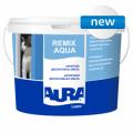 El esmalte Aura Luxpro Remix Aqua acrílico decorativo 2.5л