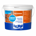 The front paint modified by a siloxane of Aura Luxpro Residens 9 of l