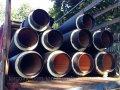 Теплоизолированные стальные трубы 89/160 в оболочке (ПЕ; СПИРО)