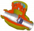 Клапан обратный поворотный C10.1 Class 900-2500