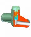 Клапан обратный подъемный Z15, Z16 PN160-630