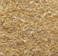 Waste grain used in poultry farming and animal husbandry