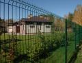 Панельный забор из сварной сетки с ПВХ покрытием