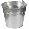 Buckets galvanized 12 l