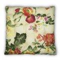 Подушка на стул Кедр на Ливане квадратная стеганная Flowers серия Best 37x37x5 см Цветы (1002)