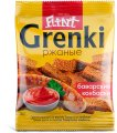 Ржаные «Flint Grenki» со вкусом«Баварские колбаски» 70 гр.