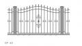 Забор металлический СГ-12