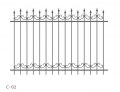 Wrought-iron fence with-02 under the order